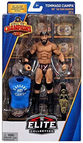WWE Tommaso Ciampa Hall of Champions Elite Collection Series #2