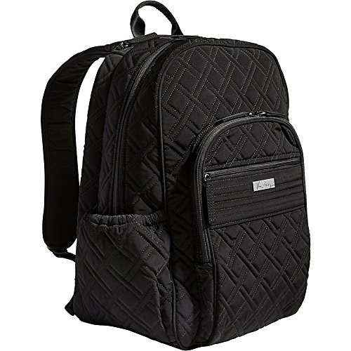 Vera Bradley Campus Tech Backpack (Classic Black)