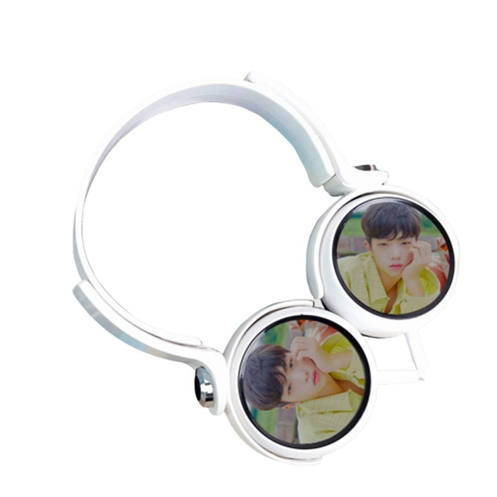 perfect-kim Kpop X1 Universal Headphones,Bluetooth Wireless Hi-Fi Stereo Wired & Wireless Headphones Stereo Headset Earphone(Color 12)