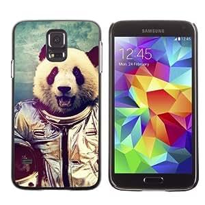 Hu Xiao Licase Hard protective case cover Skin Cover for Samsung Galaxy S5 - Astronaut Panda Bear x5Kmn3MjXk0