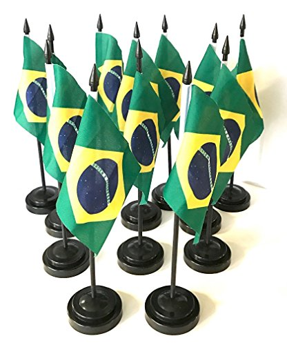 Made in The USA! Box of 12 Brazil 4