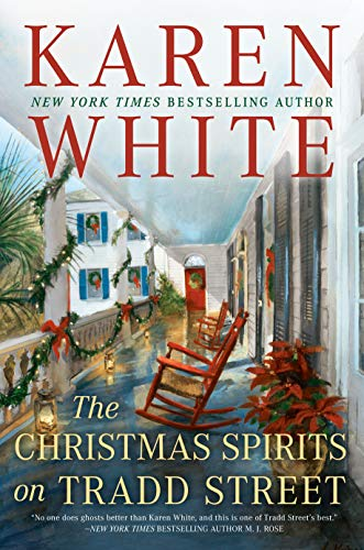 Book cover from The Christmas Spirits on Tradd Street by Karen White