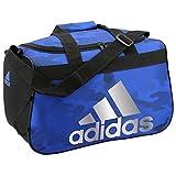 adidas Diablo Duffel Bag, One Size, Blue Data Camo/Black/Silver