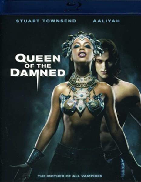 Amazon Com Queen Of The Damned Bd Blu Ray Aaliyah Stuart Townsend Marguerite Moreau Vincent Perez Paul Mcgann Lena Olin Christian Manon Michael Rymer Movies Tv