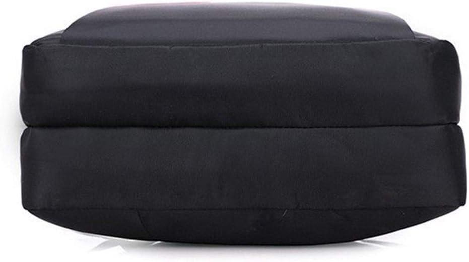 HongTeng Business USB Interface Computer Backpack Nylon Backpack Color : Black, Size : 45x34X15cm