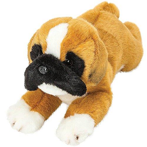 (Suki Gifts Yomiko Boxer Lying Dog ~ Approx 12