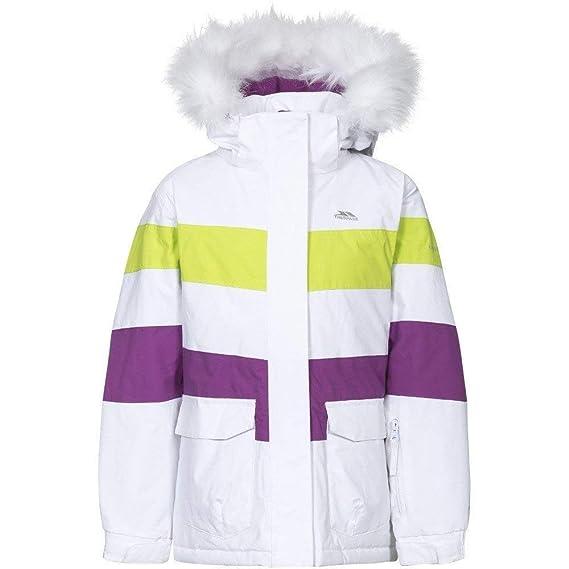 05a4384d8 Trespass Childrens Girls Hawser Ski Jacket  Amazon.co.uk  Clothing