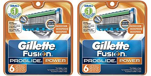Gillette Fusion vudTyO ProGlide Power Mens Razor Blade Re...