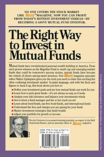 51ucsByfE5L - The Right Way to Invest in Mutual Funds (Money America's Financial Advisor)