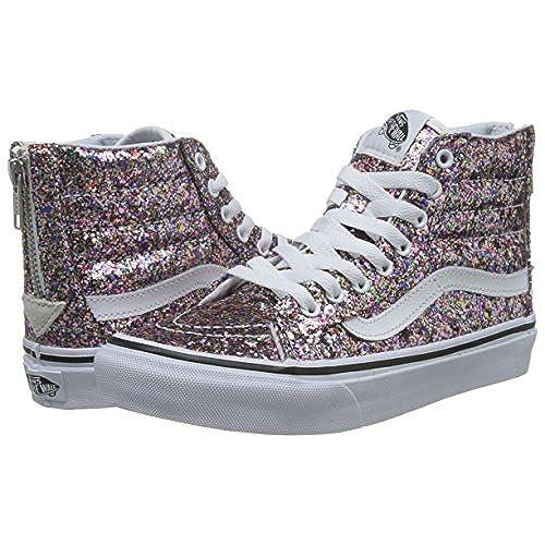 well-wreapped Vans Womens Chunky Glitter SK8-Hi Slim Zip Sneaker ... f049c36ee