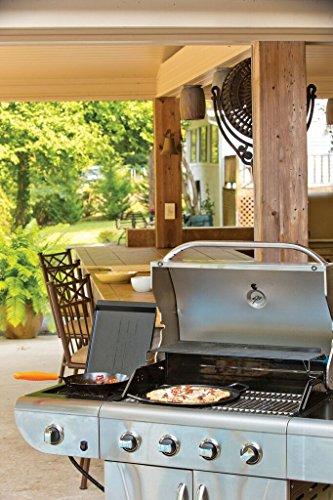 Lodge P14P3 Pro-Logic Cast Iron Pizza Pan, 14-inch, Black by Lodge (Image #6)
