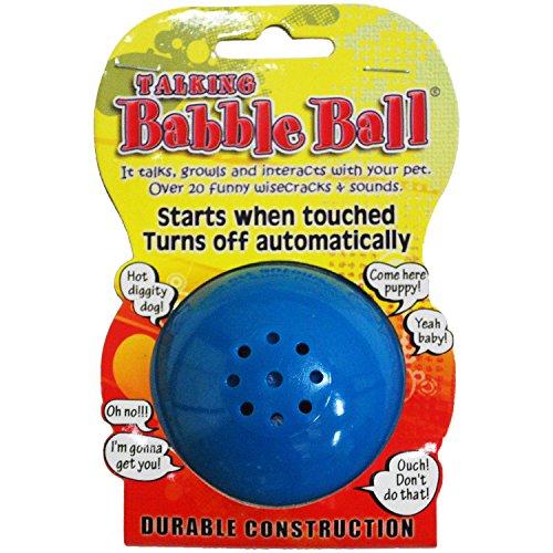 Medium Talking Babble Ball-Blue ()