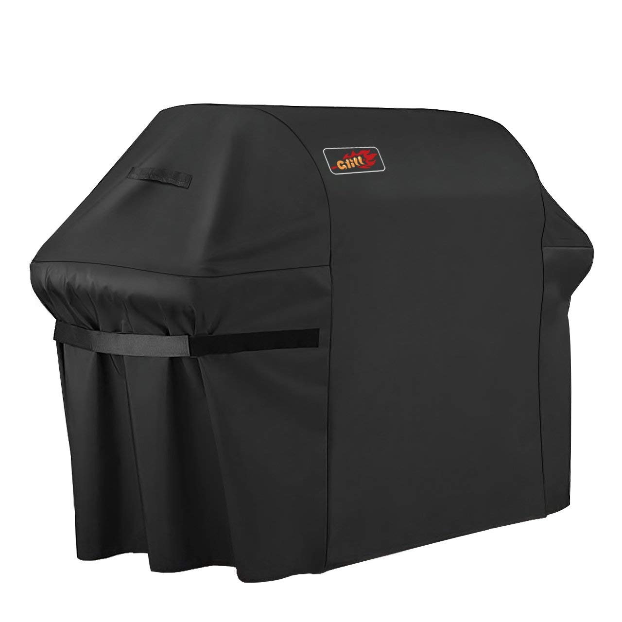 VicTsing Grill Cover, 64-Inch Waterproof Heavy Duty Gas BBQ Grill Cover for Weber, Holland, JennAir, Brinkmann and Char Broil, Black product image