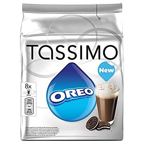 2 X Factory Sealed Pack Tassimo T Disc Pods Oreo Cookies Hot