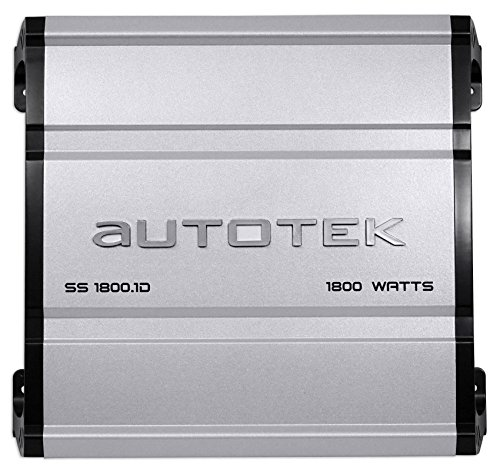 Autotek SS1800.1D Super Sport 1800w Mono Car Amplifier Class D+Remote+Amp Kit by Autotek (Image #1)