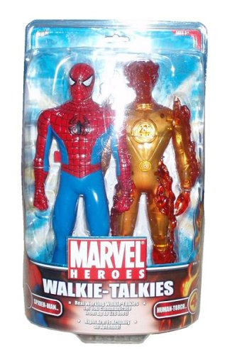 MGA Marvel Spiderman Walkie-Talkie Human Torch