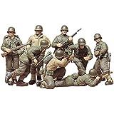 Tamiya - 35048 - Maquette - Infanterie Us Deuxième Gm Front Européen