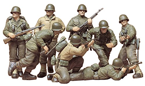 35 German Infantry Weapons - Tamiya Models U.S. Infantry European Theater Model Kit