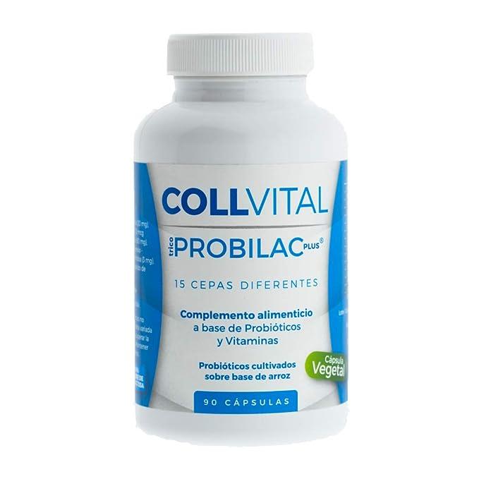 Probiótico vegano con 15 cepas | 90 cápsulas tratamiento para 3 meses | Mejora las defensas y la flora intestinal | Lactobacilos y Bífidobacterias