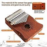 Upgrade Kalimba 17 Key Thumb Piano with Study