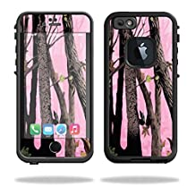 Mightyskins Protective Vinyl Skin Decal Cover for Lifeproof iPhone 6/6S Case fre Cover wrap sticker skins Pink Tree Camo