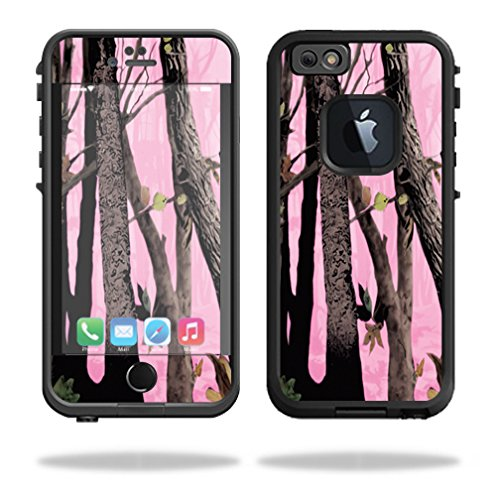 Mightyskins-Protective-Vinyl-Skin-Decal-Cover-for-Lifeproof-iPhone-66S-Case-fre-Cover-wrap-sticker-skins-Pink-Tree-Camo