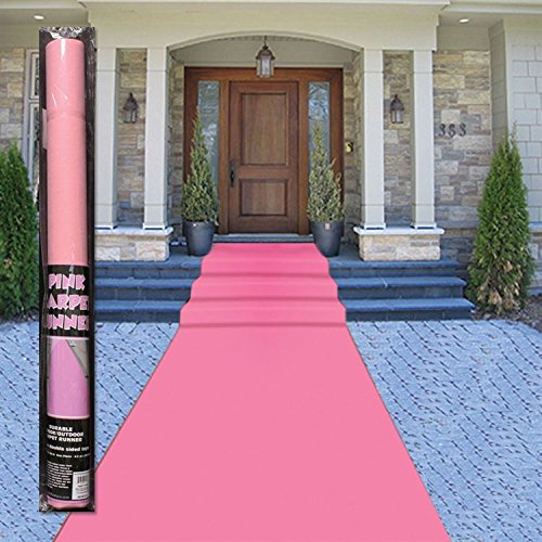 Pink Carpet Runner (Pink Floor Runner)