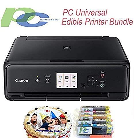 image regarding Printable Edible Paper named Edible Printer Package- Manufacturer Fresh Canon All-inside-1 Printer with Edible Paper and Inks by way of Laptop or computer Common