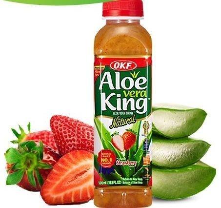 strawberry aloe vera juice - 5