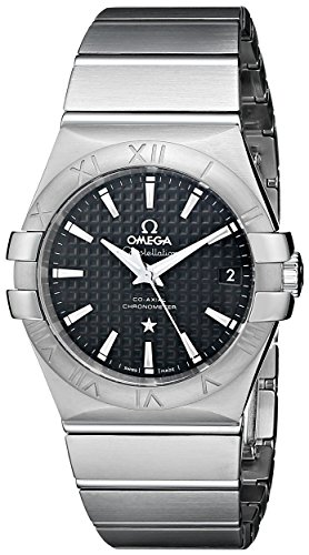 Omega Men's Constellation Co-Axial Automatic 35mm Analog Display Swiss Automatic Silver -