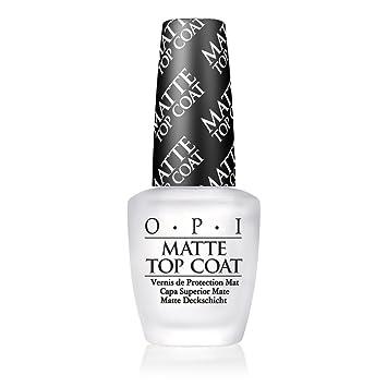 Amazon.com: OPI Nail Lacquer Top Coat, Matte: Luxury Beauty