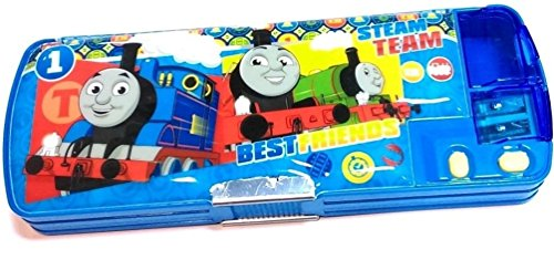 Thomas Multi-function 2 Sided Pen Pencil Box Holder with Sharpener