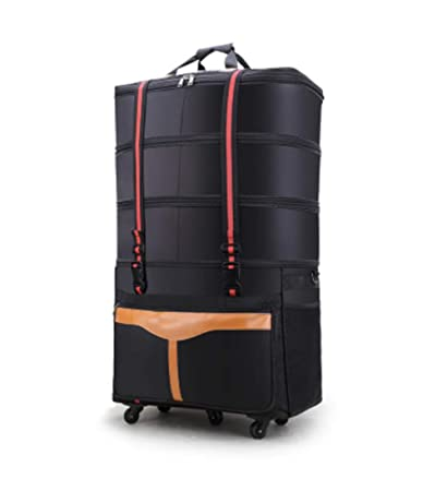 Amazon.com: ZXY Bolsa de equipaje impermeable con ruedas ...