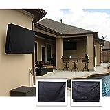 Outdoor TV Cover,Weatherproof and Dust-proof TV