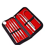 Ocamo Dental Scaler Tool Set Tooth Stainless Steel