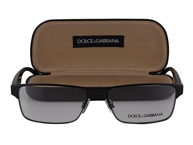 aef0f547bd48 Image Unavailable. Image not available for. Colour  Dolce Gabbana DG1232  Eyeglasses 54-16-140 Black-Gunmetal 01. Roll over image to zoom in. Dolce    Gabbana