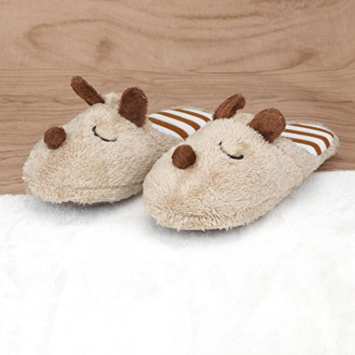 TM Soft Men Indoor Shoes Warm Home House 2 Slippers Anti Elevin Women Couple Cotton Coffee Plush slip dwfqxdSE