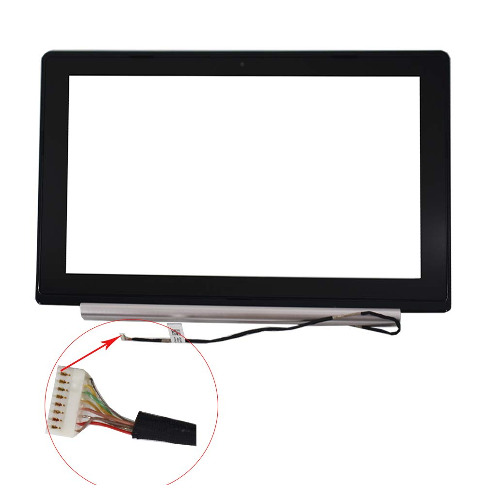 findmall New Digitizer Touch Screen Glass & Bezel for 11.6'' Asus VivoBook X202E Q200E by findmall (Image #2)