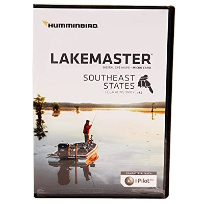 Humminbird Southeast States Map Card by Green Supply