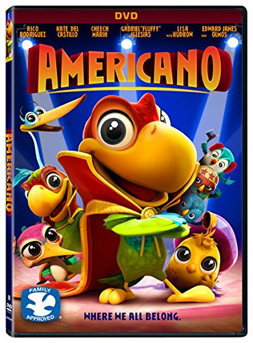 DVD : Americano (Widescreen, Dolby, AC-3, )