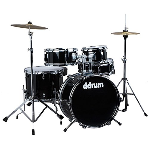 ddrum-d1-jr-complete-5-piece-drum-set-black
