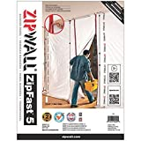ZipWall ZipFastReusable Barrier Panels, 10 Foot Panel