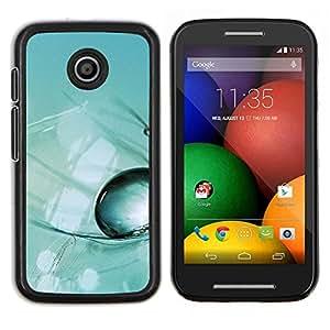 For Motorola Moto E Case , Planta Naturaleza Forrest Flor 48- Diseño Patrón Teléfono Caso Cubierta Case Bumper Duro Protección Case Cover Funda