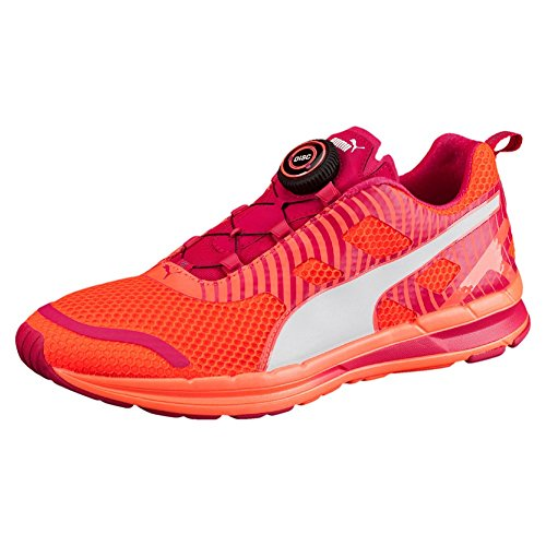 Puma Speed 300S Disc–Fluo/Pêche Rose Rouge/Blanc