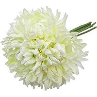 Primanova Dekoratif Çiçek Bej Kasımpatı  5'Lı Buket D-D70126-2