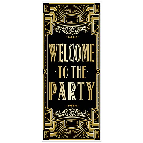 Musykrafties Roaring 20's Gatsby Grandeur Welcome to the Party Door Cover 72x30