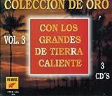 Coleccion De Oro Vol. 3 (Con Los Grandes De Tierra Caliente 3 Cd's) Cdem-054