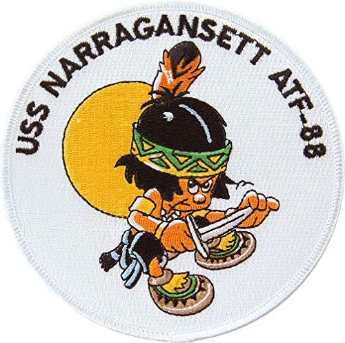 USS Narragansett ATF-88 Patch Full Color