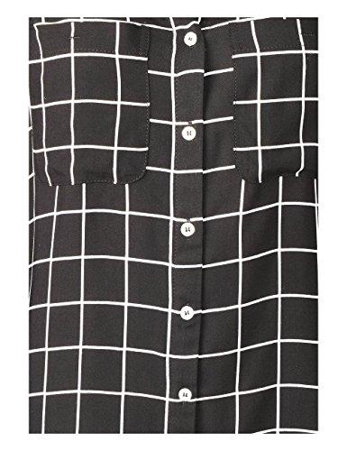 Mehrfarbig One 20001 Blouse Street Femme Black xadTqxFt