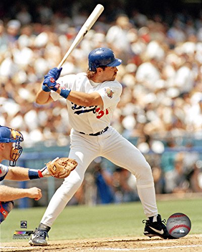Mike Piazza Los Angeles Dodgers Mlb Action Photo
